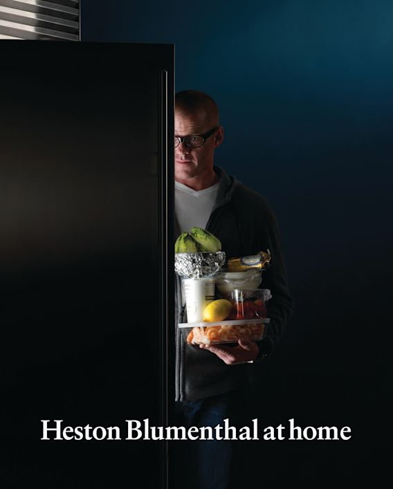 Heston Blumenthal at Home cover