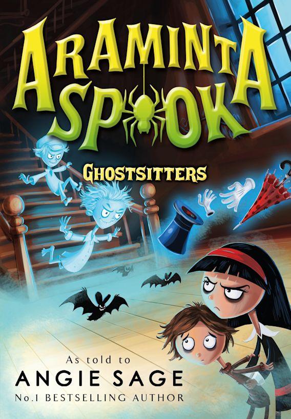 Araminta Spook: Ghostsitters cover