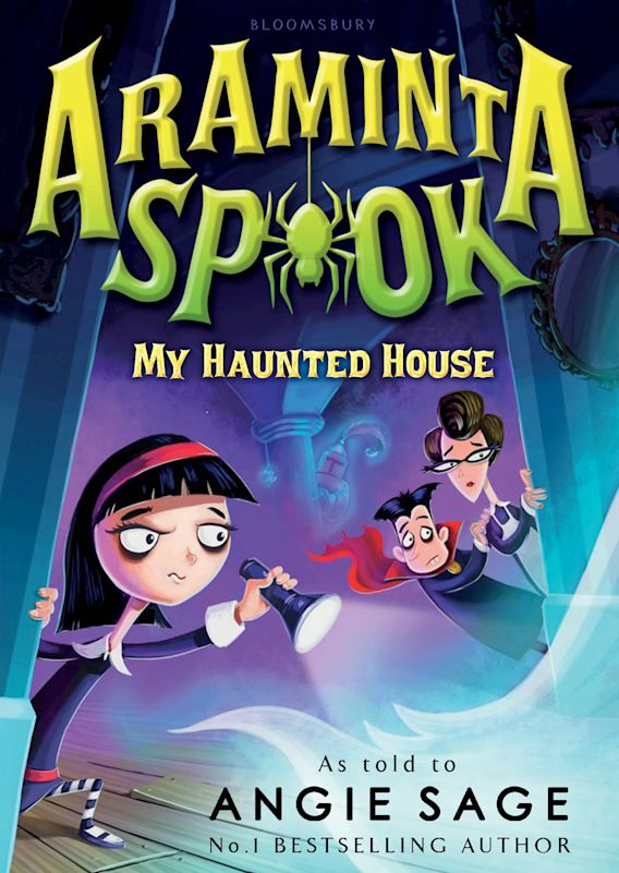 Araminta Spook: My Haunted House cover
