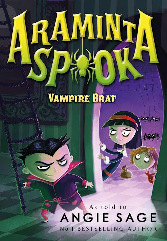 Araminta Spook: Vampire Brat cover