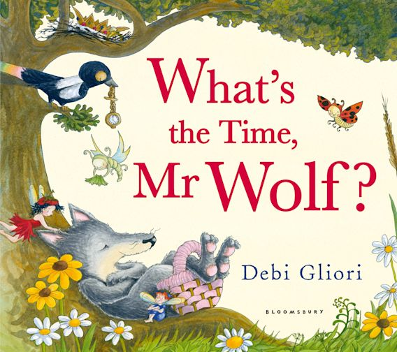 What's the Time, Mr Wolf? cover