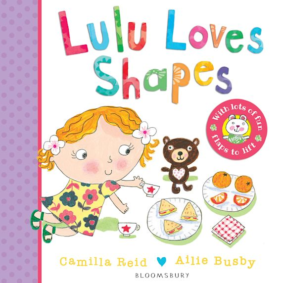 Lulu Loves Shapes cover
