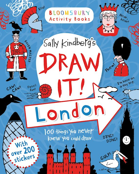 Draw it! London cover