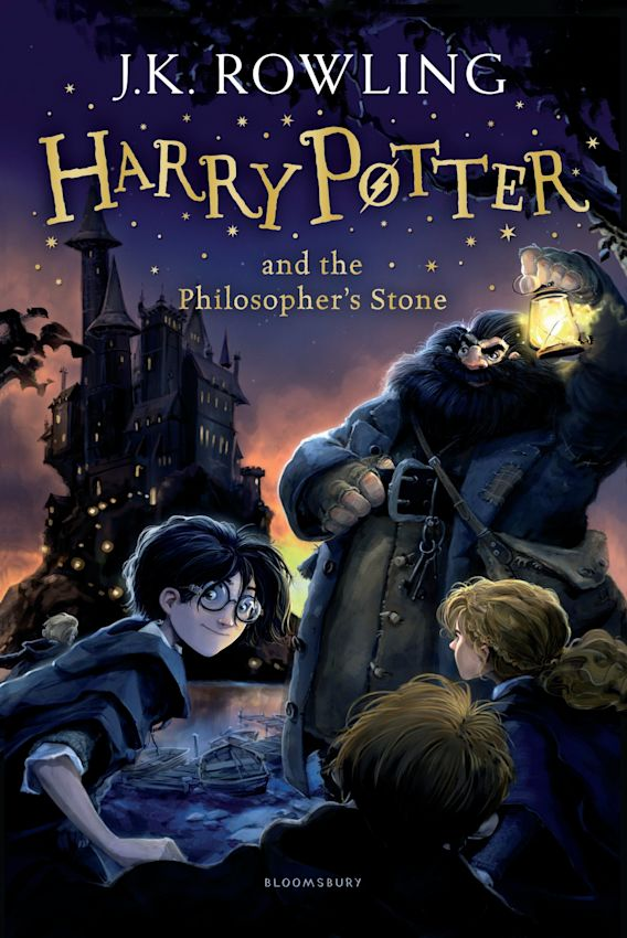 Harry Potter and the Philosopher's Stone cover