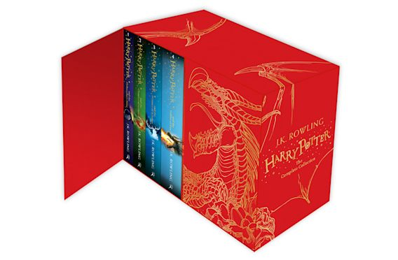Harry Potter Box Set: The Complete Collection (Children's Hardback) cover