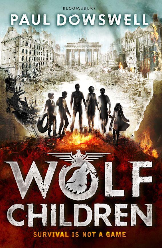 Wolf Children cover