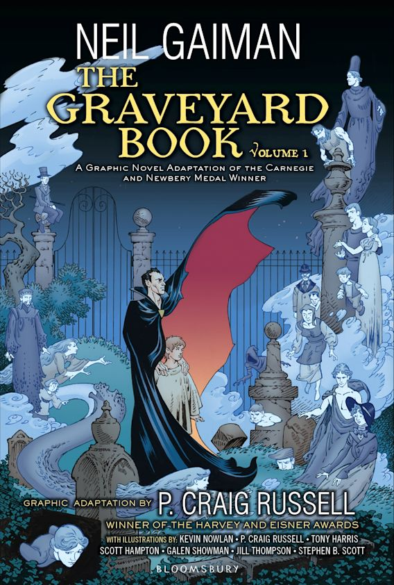 The Graveyard Book Graphic Novel, Part 1 cover