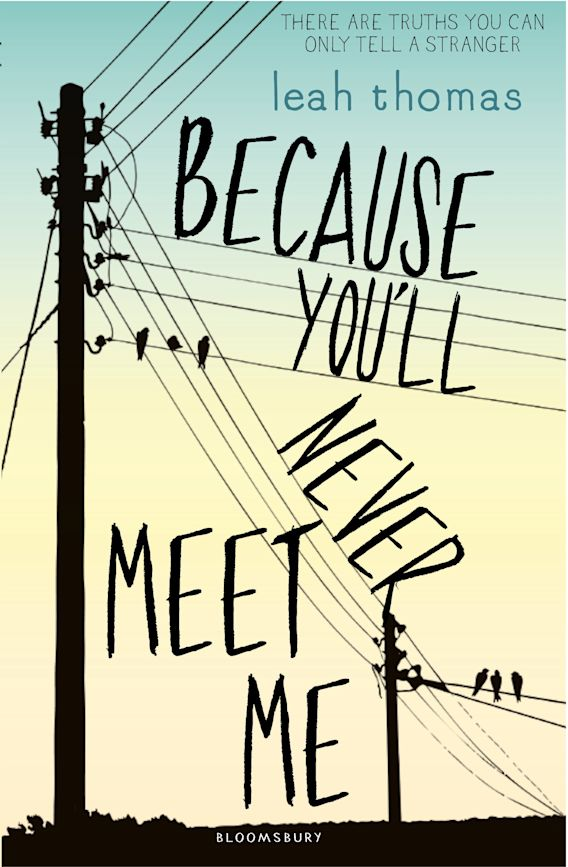 Because You'll Never Meet Me cover