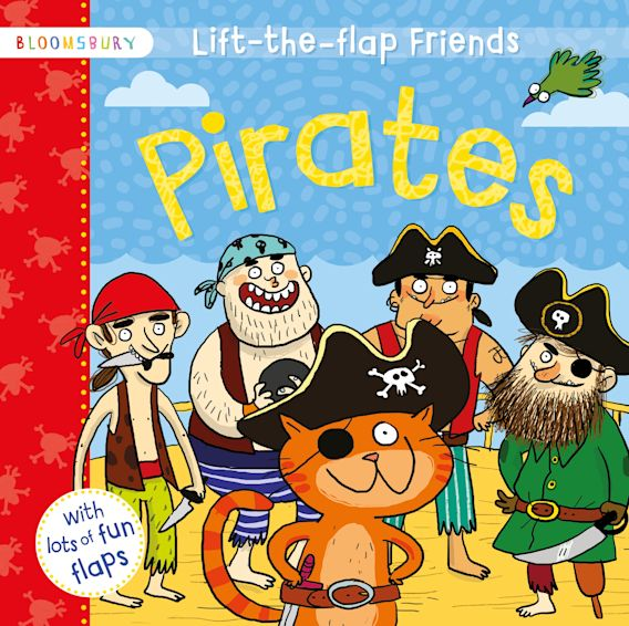 Lift-the-flap Friends Pirates cover