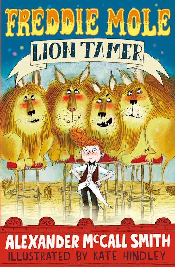 Freddie Mole, Lion Tamer cover