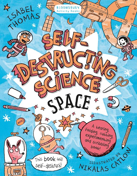 Self-Destructing Science: Space cover