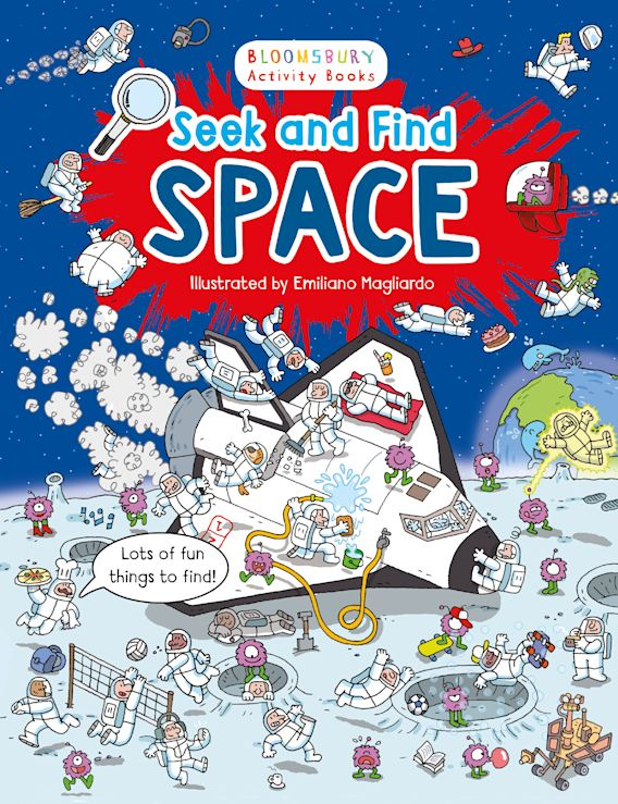 Seek and Find Space cover