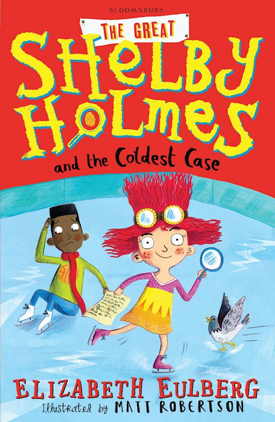 The Great Shelby Holmes and the Coldest Case cover