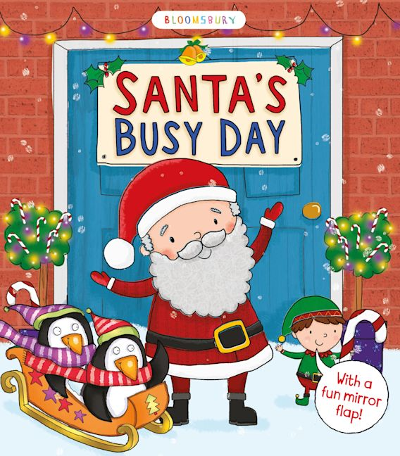 Santa's Busy Day cover