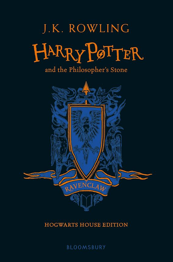 Harry Potter and the Philosopher's Stone – Ravenclaw Edition cover