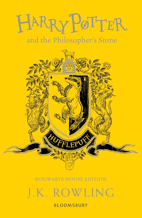 Harry Potter and the Philosopher's Stone – Hufflepuff Edition cover