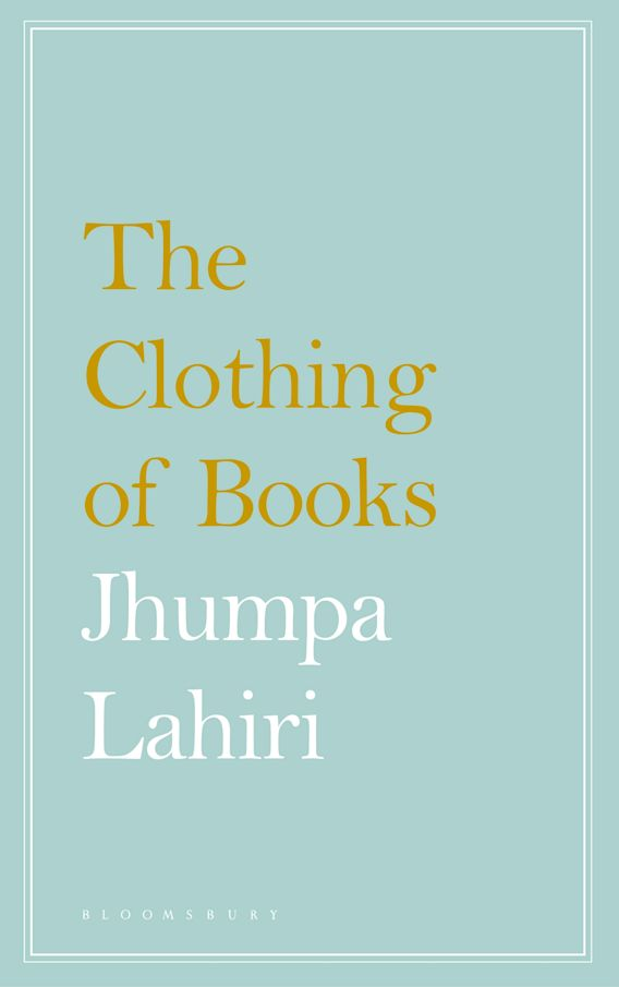 The Clothing of Books cover