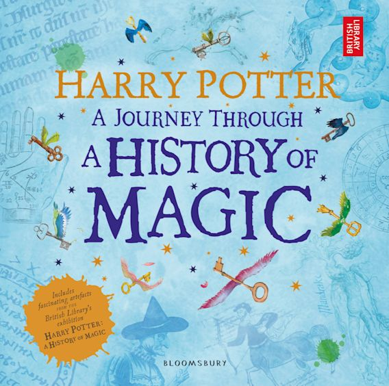 Harry Potter - A Journey Through A History of Magic cover