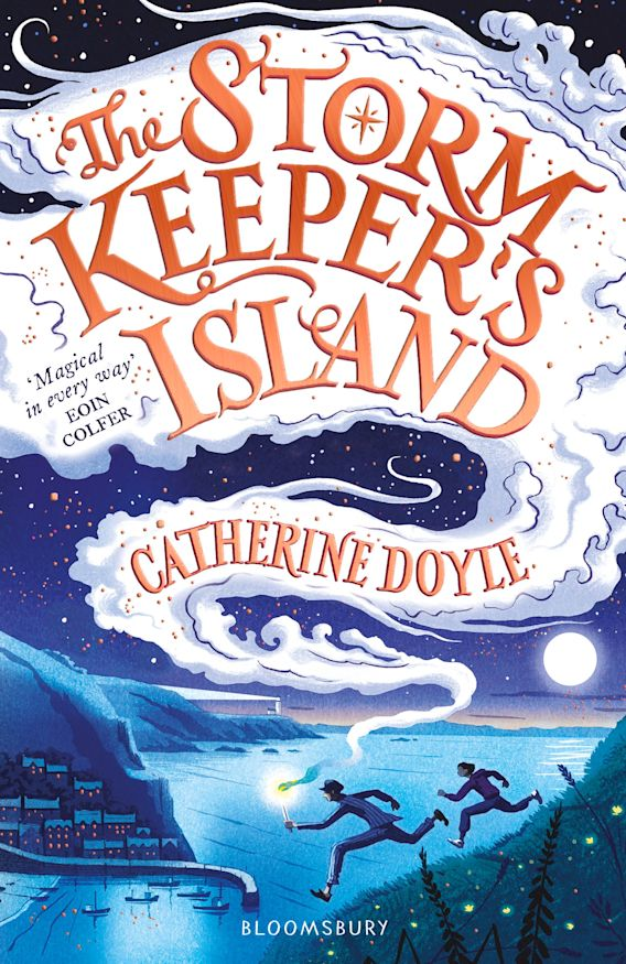 The Storm Keeper's Island cover