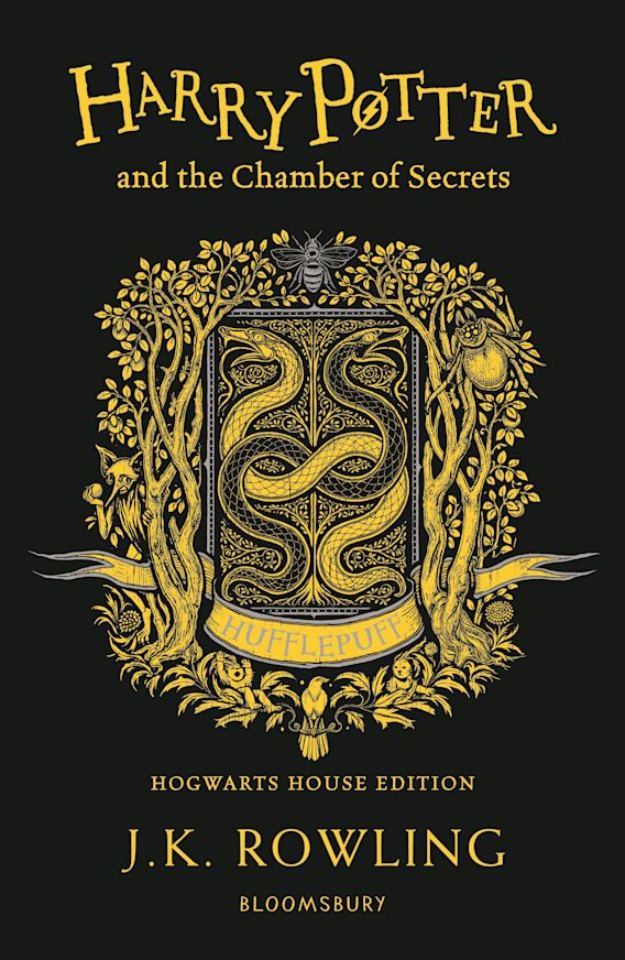 Harry Potter and the Chamber of Secrets – Hufflepuff Edition cover