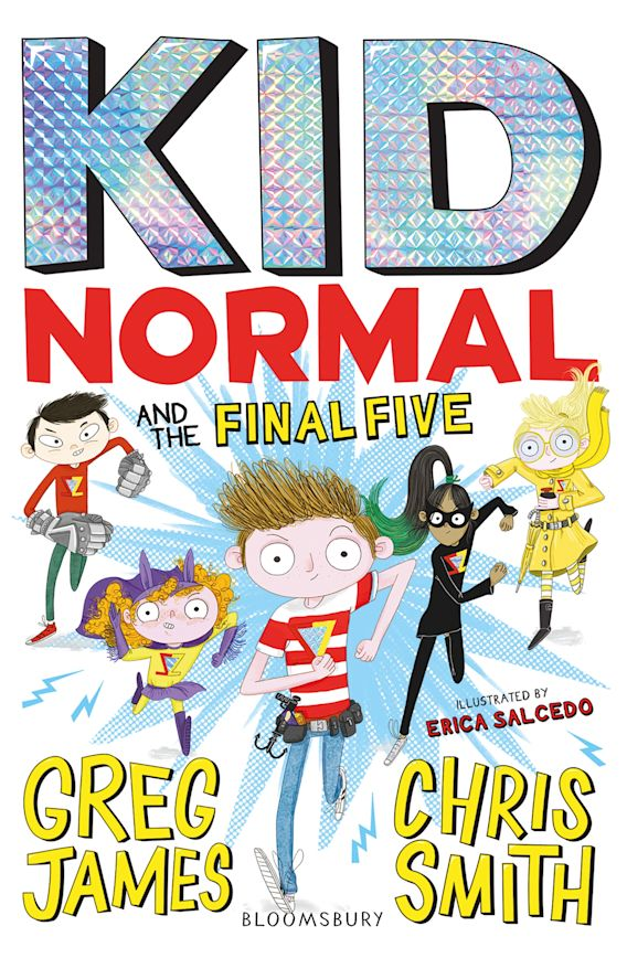 Kid Normal and the Final Five: Kid Normal 4 cover