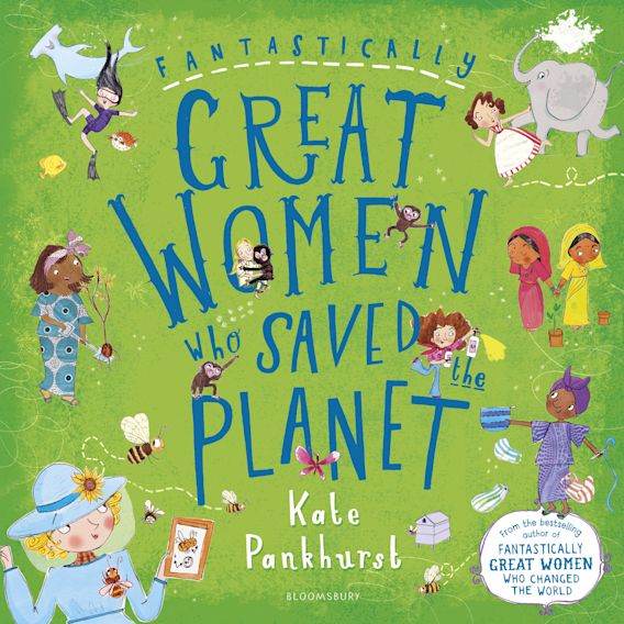 Fantastically Great Women Who Saved the Planet cover