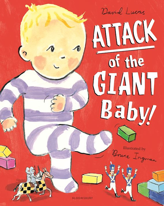 Attack of the Giant Baby! cover