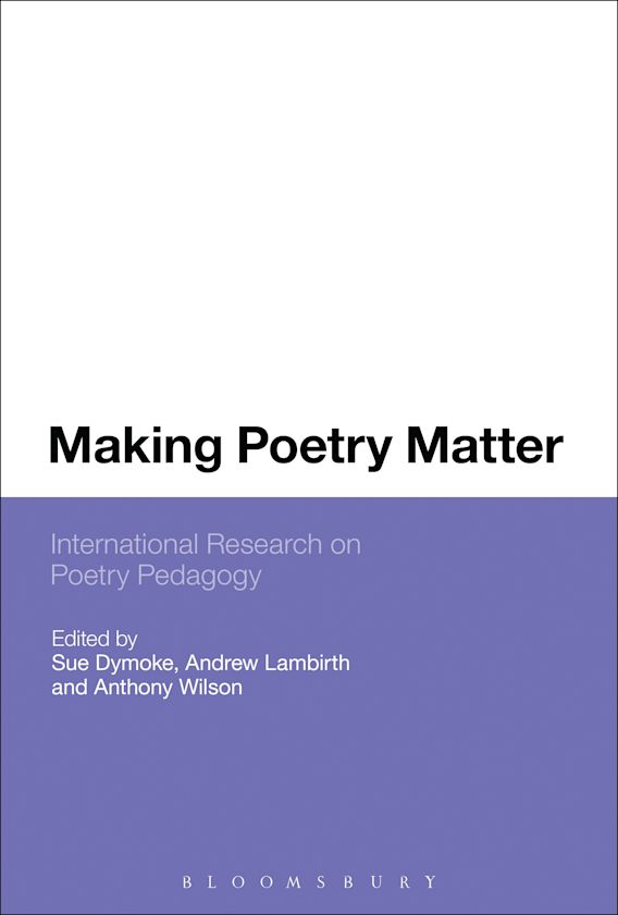 Making Poetry Matter cover