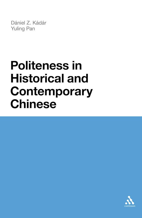Politeness in Historical and Contemporary Chinese cover