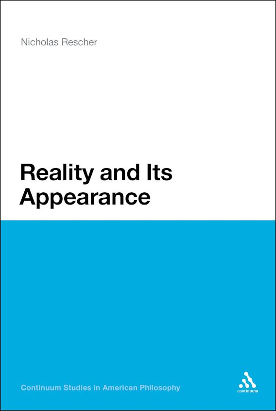 Reality and Its Appearance cover