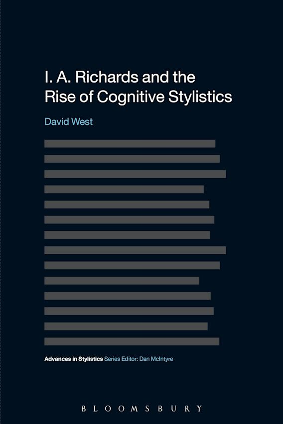 I. A. Richards and the Rise of Cognitive Stylistics cover
