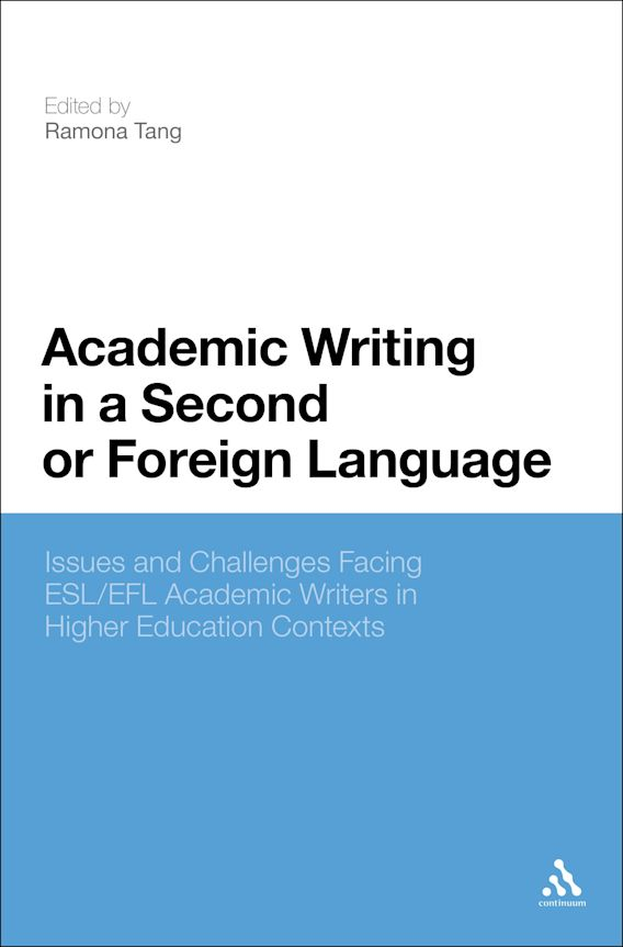 Academic Writing in a Second or Foreign Language cover