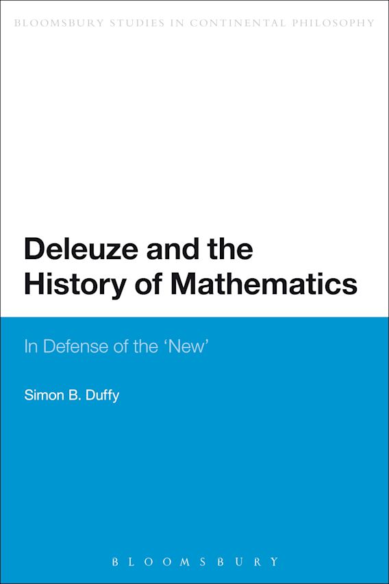 Deleuze and the History of Mathematics cover