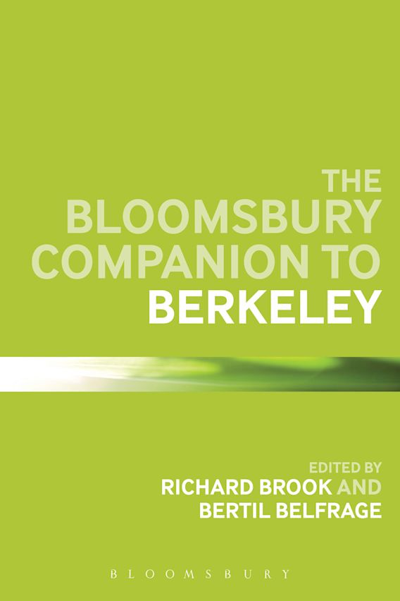 The Bloomsbury Companion to Berkeley cover