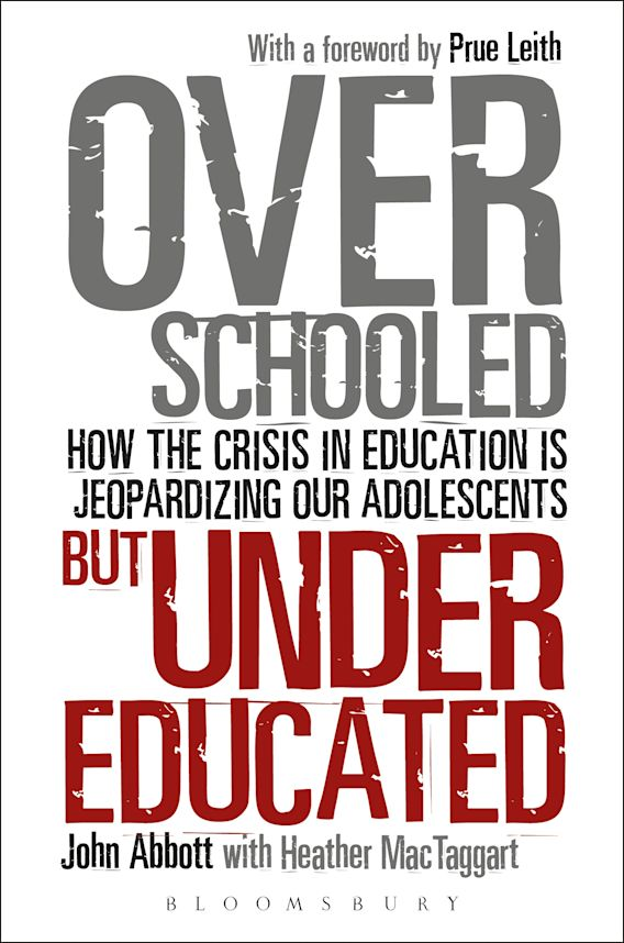 Overschooled but Undereducated cover