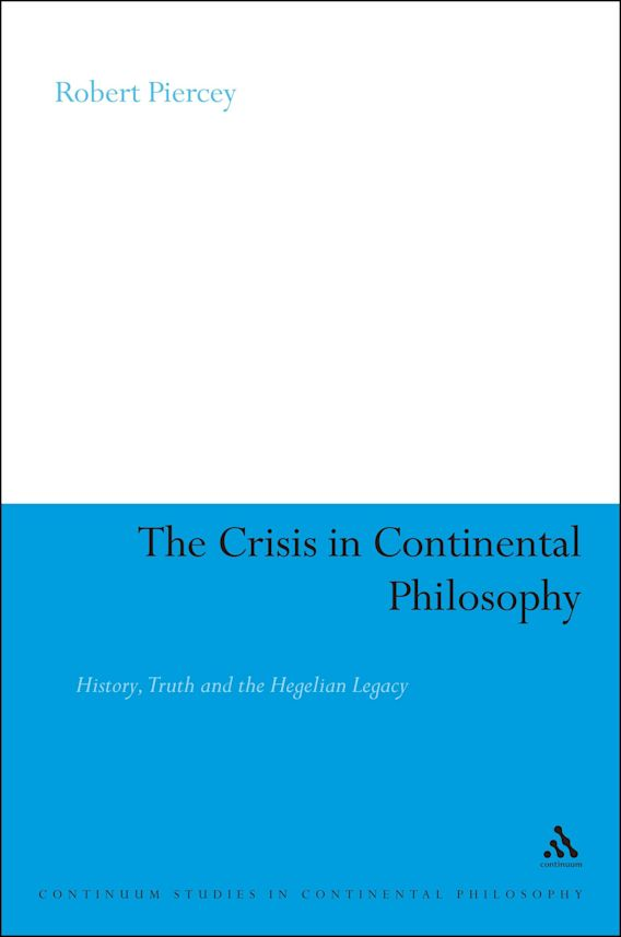 The Crisis in Continental Philosophy cover
