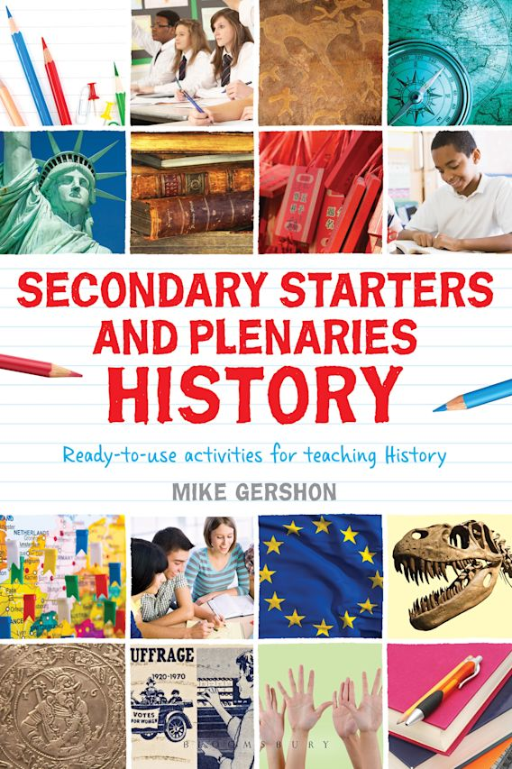 Secondary Starters and Plenaries: History cover
