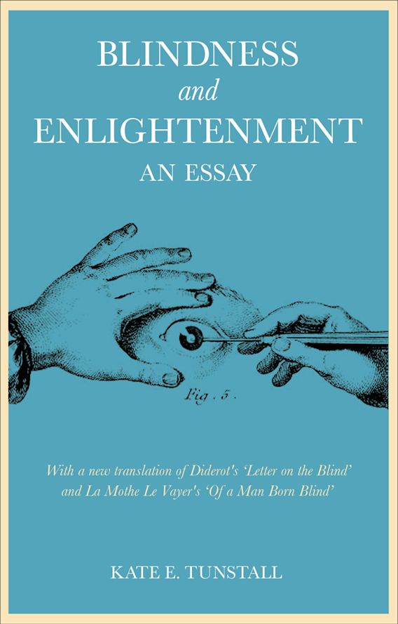 Blindness and Enlightenment: An Essay cover