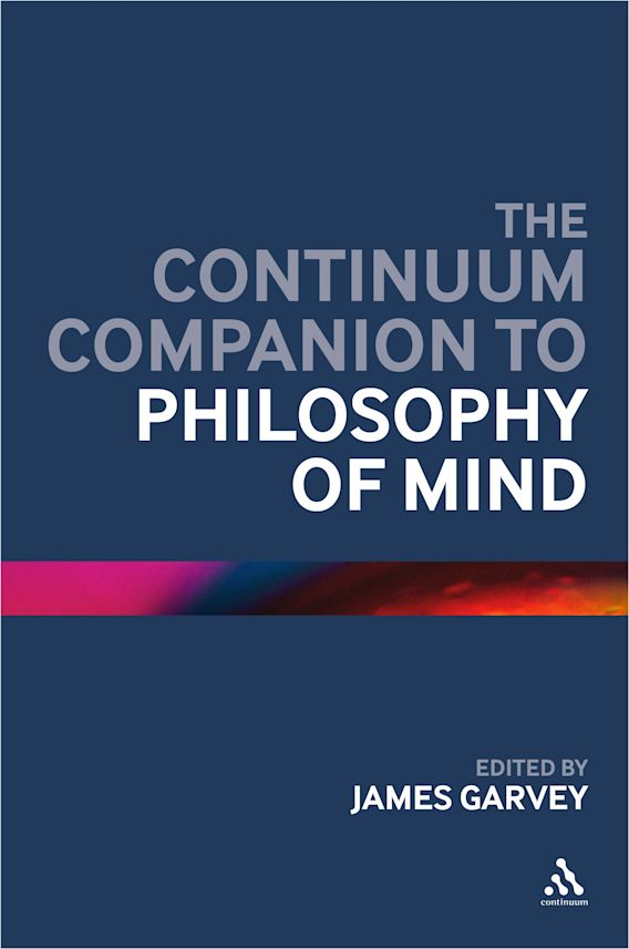 The Continuum Companion to Philosophy of Mind cover