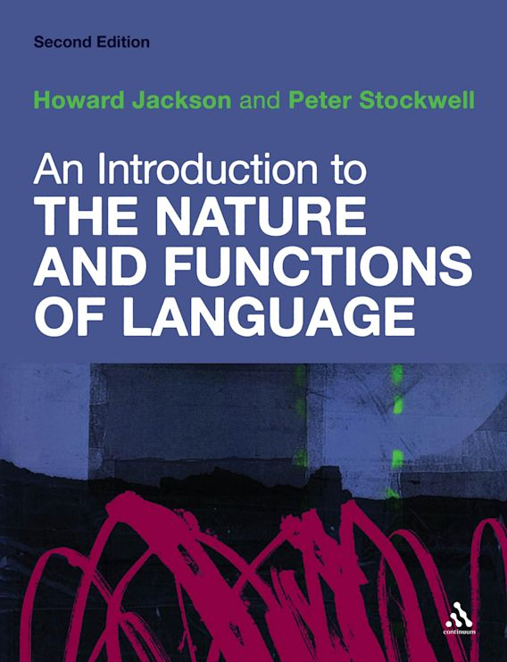 An Introduction to the Nature and Functions of Language cover