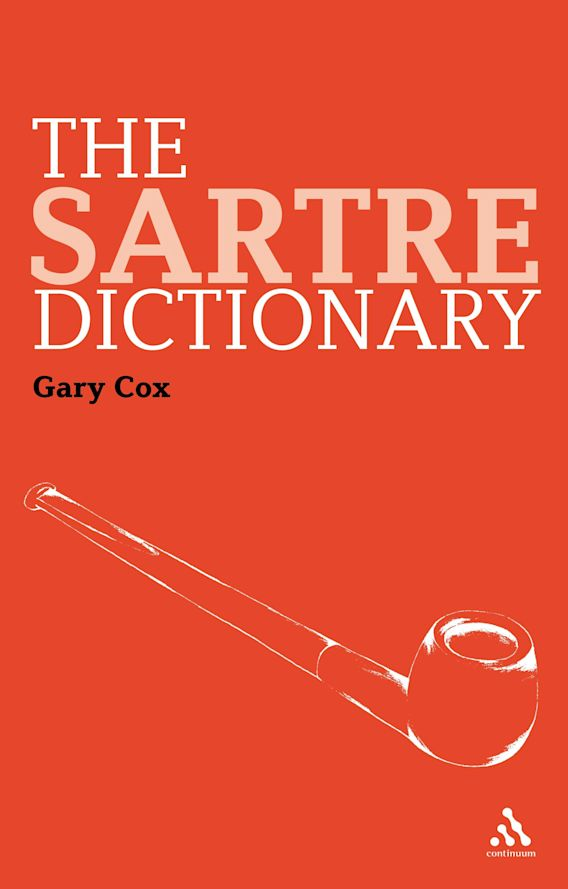 The Sartre Dictionary cover