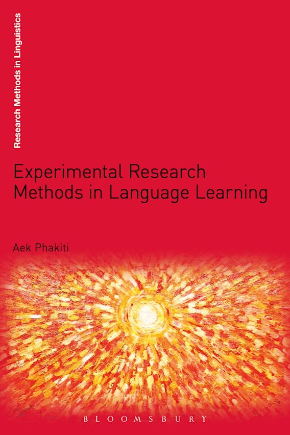 Experimental Research Methods in Language Learning cover