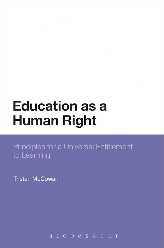 Education as a Human Right cover
