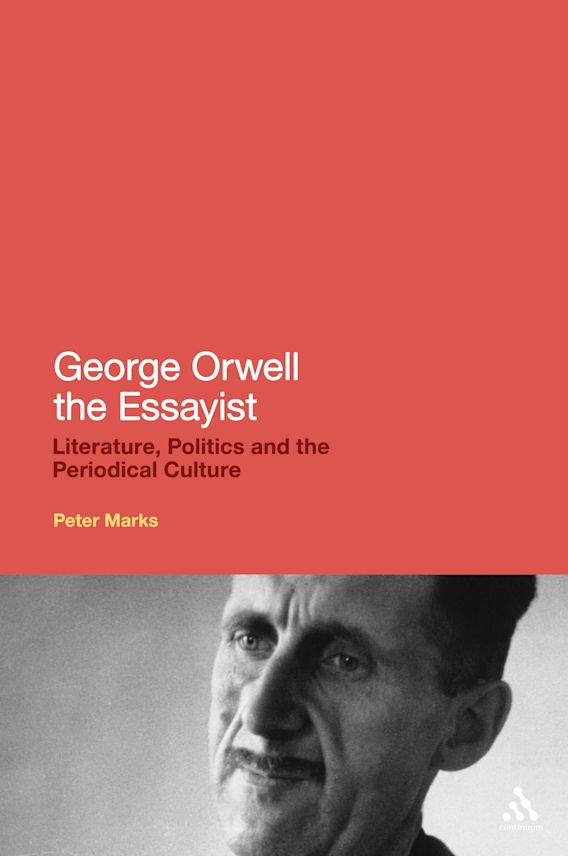 George Orwell the Essayist cover