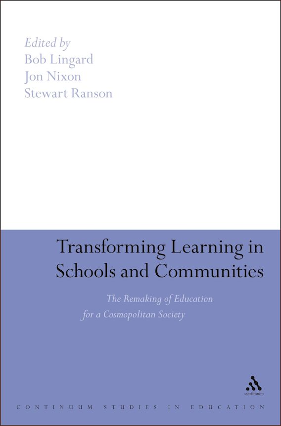 Transforming Learning in Schools and Communities cover