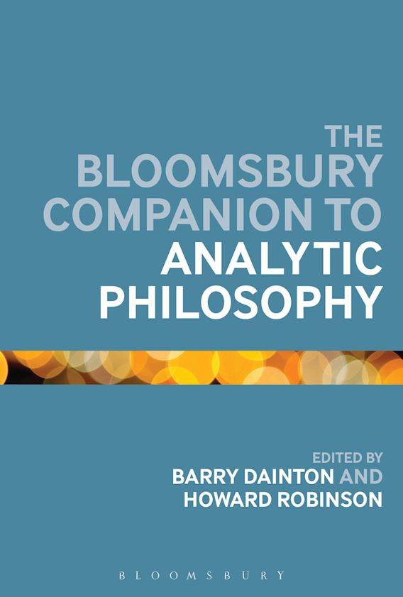 The Bloomsbury Companion to Analytic Philosophy cover