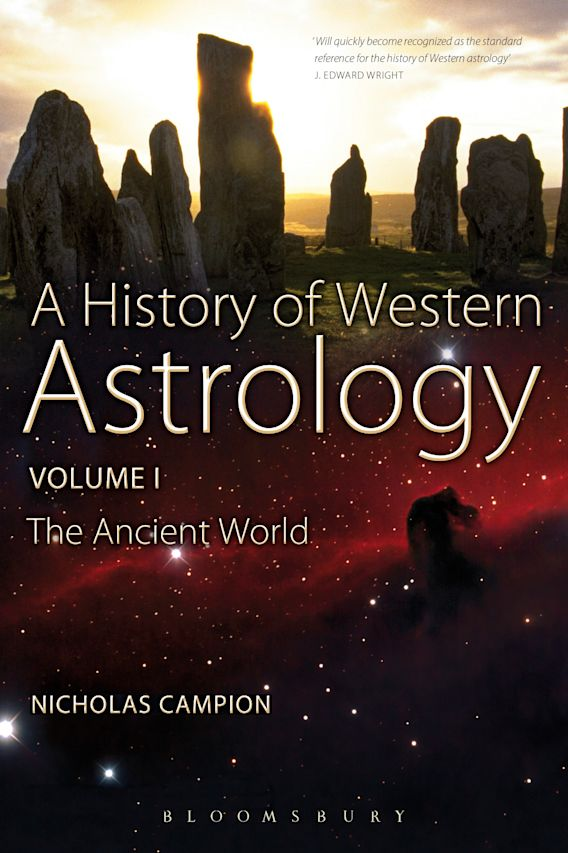 A History of Western Astrology Volume I cover