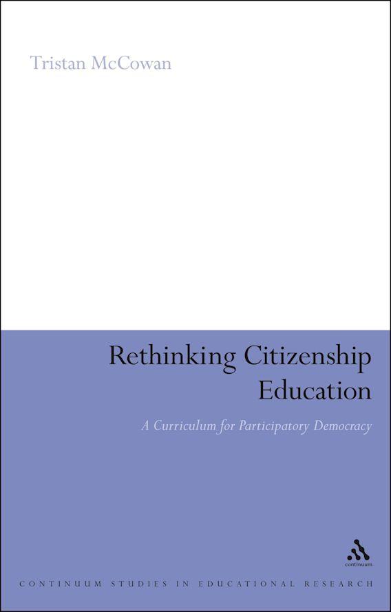 Rethinking Citizenship Education cover