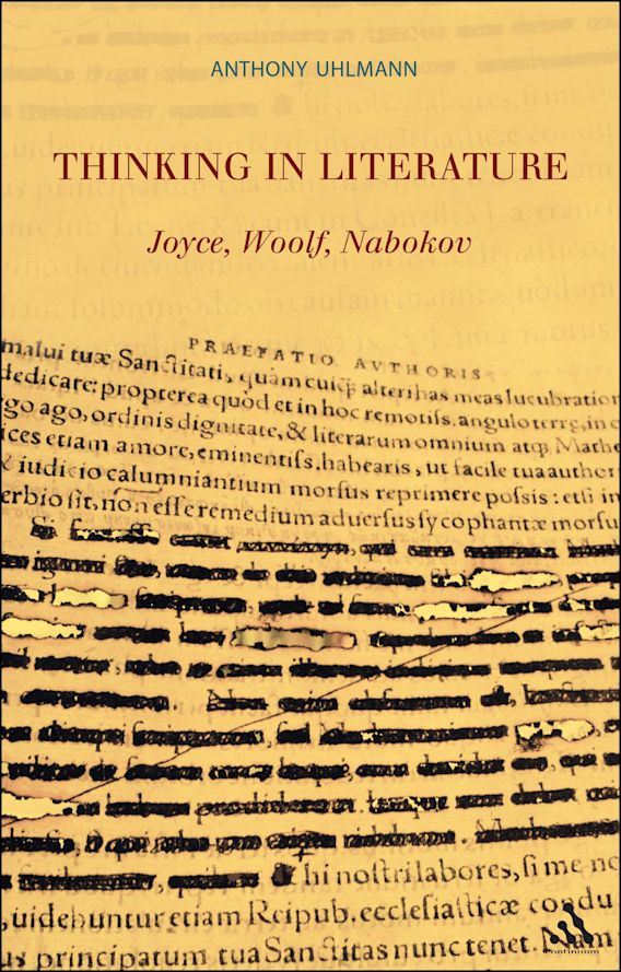 Thinking in Literature: Joyce, Woolf, Nabokov cover