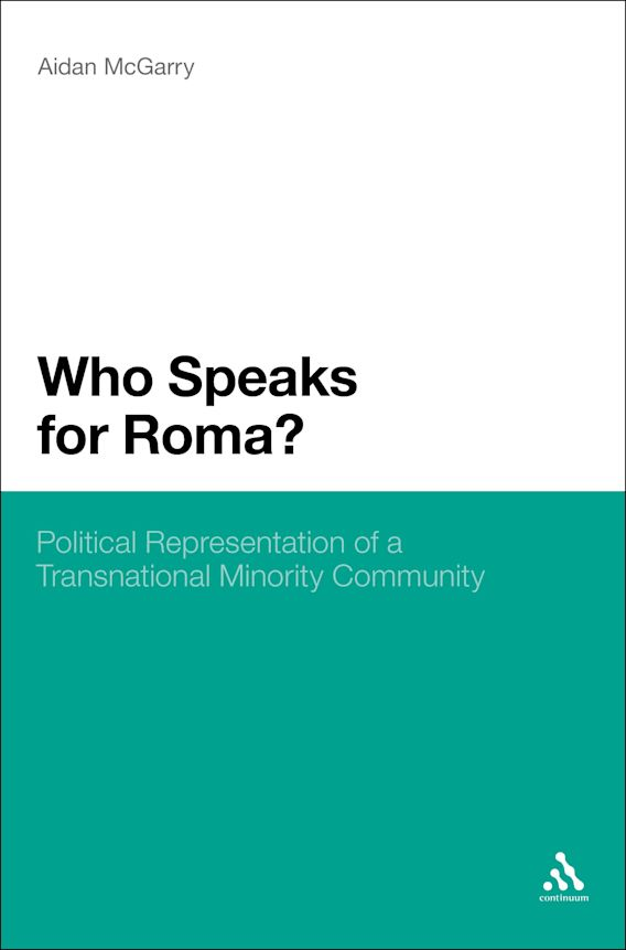 Who Speaks for Roma? cover